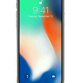 Apple iPhone X  256GBSmartphone - Silver