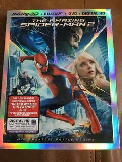 The Amazing Spider-Man 2 in 3D, blu ray