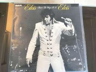 黑膠唱片 Elvis That's the way