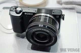 Kredit Sony Alpha A5000L 16-50mm - dp ringan tanpa Cc