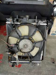 Japan L7 L9 turbo radiator fan