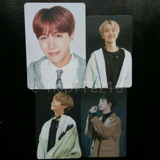 WTS BTS 방탄소년단 PC / PHOTOCARD OFFICIAL