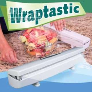 Wraptastic Dispenser - Pull, Press, Wrap!