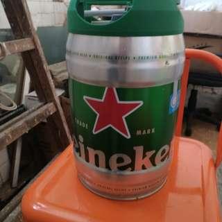 喜力啤酒 (主要買個罐)