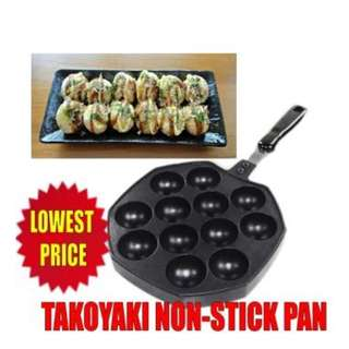 """12 Holes Takoyaki Octopus Grill Tray Mold Pan (HA-0003) """
