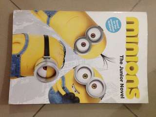 Minions book based on the movie