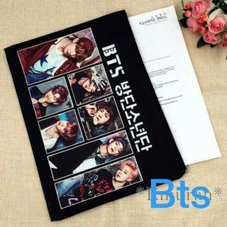 BTS A4 XL PENCIL CASE