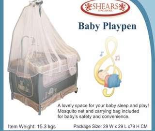 Shears Baby playpen