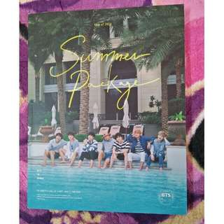 BTS SUMMER PACKAGE 2016 PHOTOBOOK