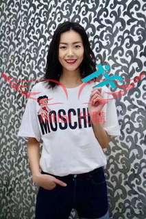 Moschino 18ss t shirt