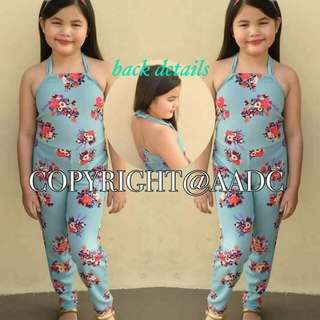 🌺JUMPSUIT  🌺FIT 5-9YRS. OLD
