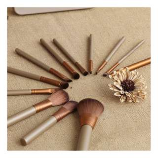 naked brush set 12pcs (FAST DELIVERY/ HIGH QUALITY) (B-0006)