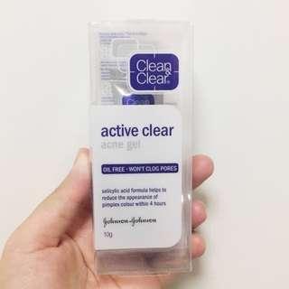 BN CLEAN & CLEAR ACTIVE CLEAR ACNE GEL