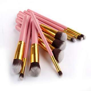 10pcs in 1 New Makeup Kabuki Brush Set (B-0009)