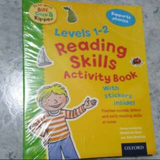 BN Oxford Reading Skills Activity with Stickers book