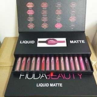 New liquid matte lipstick set 16 pcsServices
