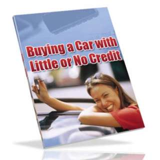 How To Buy A Car With Little Or No Credit eBook