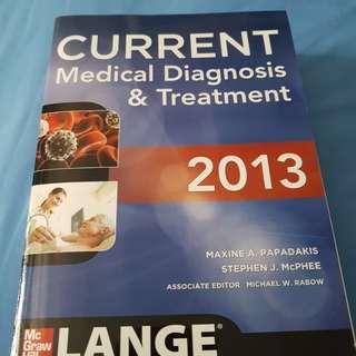 CURRENT Medical Diagnosis & Treatment 2013.