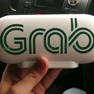 Grab car service light