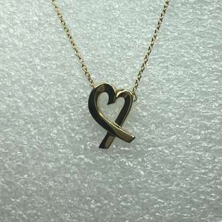 Tiffany 18kt gold necklace