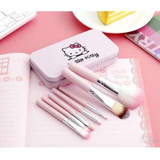 7PCS HELLO KITTY Limited Brush SET with Box (B-0008)