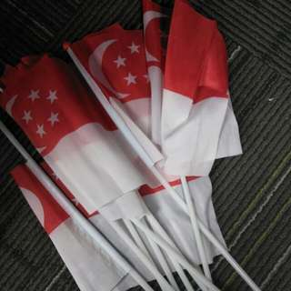 Small singapore flags