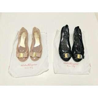 Flat shoes salvatore ferragamo new