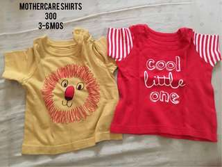 Pre-loved Mothercare Shirts