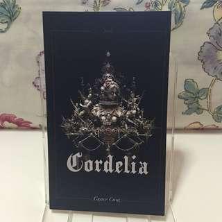 Cordelia (Poetry) - Grace Chia