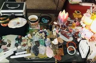 Crystal healing sanctuary