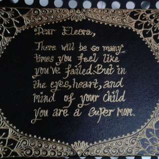 Henna Customise canvas
