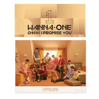 [INC EMS] WANNA ONE 2ND MINI ALBUM - I PROMISE YOU