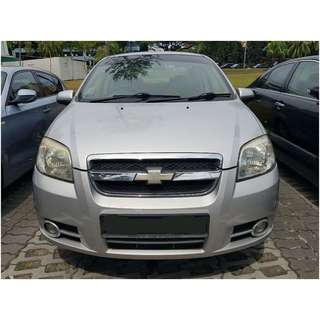 Chevrolet Aveo Sedan 1.4 Manual 4dr