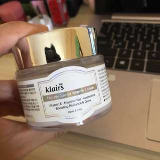 Klairs Freshly Jucied Vitamin E Mask