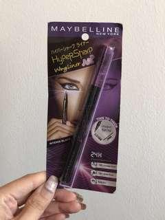 Authentic Maybelline Eyestudio Hypersharp Wing Liner Black Eyeliner