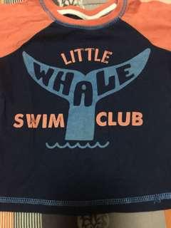 Swim wear tshirt 6 mos up