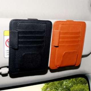 Tempat kartu mobil 4 slot / Tempat kartu serbaguna di mobil - HMB038 - Hitam