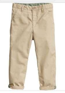H&M cotton pants for boy . Size 12-18months