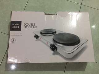 Home & Co Double Hotplate