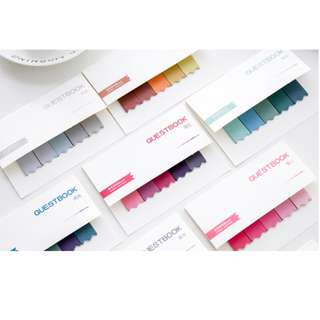 [INSTOCK]Colourful Gradient Post-it