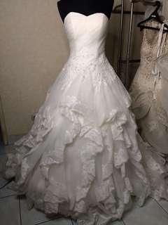 gaun pengantin wedding gown pesta bride