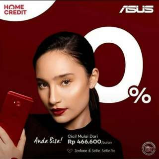 Smartphone Asus Zhenfone bisa dicicil