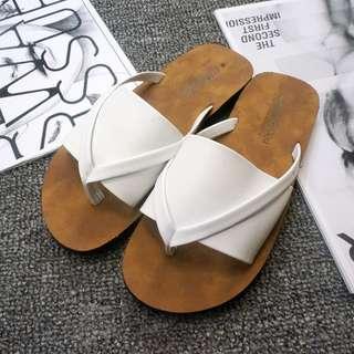 💗MIKA💗(現貨秒出)一片式夾腳拖鞋  楔形鞋 厚底鞋 拖鞋 夾腳鞋 休閒鞋02-112