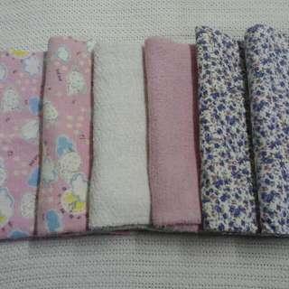 prelove 4 pcs bedung besar large swaddles & 2 pcs tuala towel