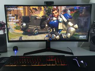 LG 34 Inch ULTRAWIDE GAMING MONITOR - 34 Inch