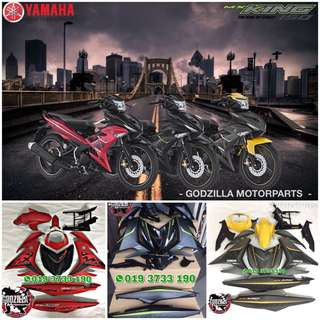 COVERSET YAMAHA Y15ZR MX KING EXCITER GP RC 150