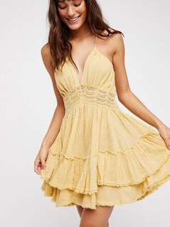 Backless dress By Free people US