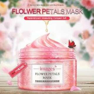Flowers petals mask