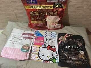 Japan face mask  kose quality 1st tbc malon