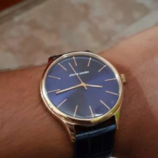Authentic Pierre Cardin minimalist watch
